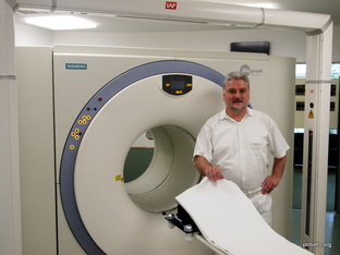 Dr. Baum with Pet/CT